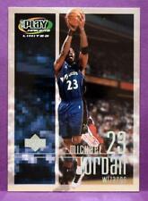 Michael Jordan Washington Wizards 2001 02 Upper Deck Playmakers Basketball #98