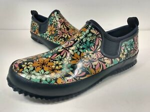 WESTERN CHIEF WOMENS BLOOM POP NEOPRENE STEP-IN SIZE 6 GARDEN SHOES FLORAL
