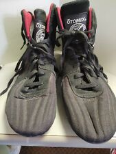 Otomix UFC Shoes Sz M10.5 Black MMA Boxing Grappling Powerlifting