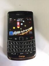 Blackberry Bold 9700 Black Orange Network Mobile Phone