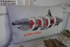 Sushi Mako Shark Rectangle Cushion Cover 30x50cm
