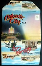 1940s Atlantic City NJ Famous Hotels, Advertising, Panorama, Elephant