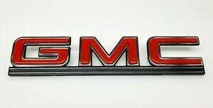 1978-95 Gmc G-series Van 1500 2500 3500 Rear Door Name Plate Emblem 14052254 NOS
