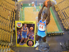 1991  DERRICK COLEMAN - Starting Lineup - SLU -Loose With Card & Coin -N.Y. Nets