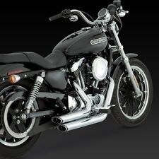 2004-2013 HARLEY SPORTSTER XL 883/1200 Short Shots Exhaust VANCE AND HINES 17219