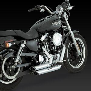 2004-2013 Harley Sportster XL 883/ 1200 VANCE & HINES Short Shots Exhaust: 17219
