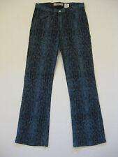 PARIS BLUES Snake Skin Stretch Jeans Juniors Size 11 x 31