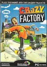 Crazy Factory (PC CD Game) Brand New, Free US First Class Shipping