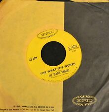 HEAR IT SOUL The Staple Singers EPIC 10220 For What It's Worth EX Company Sleeve