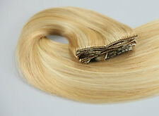 """TressMatch 20"""" Remy Human Hair Clip in Extensions Black Brown Blonde Red 120g"""