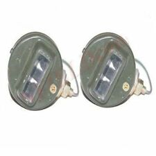 Pair Blackout Cat Eye Marker Light For WWII Willys MB Ford GPW G503 12V Bulb S2u