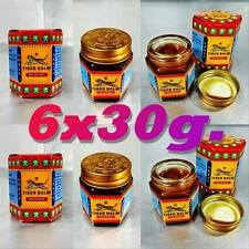 TIGER BALM  RED LARGE PACK OF 6 EACH JAR 30G  SPECIAL PRICE