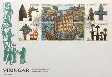 Vikingar / Vikings First Day Cover Sweden 1990