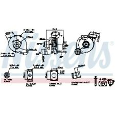 Nissens Turbolader Lader Aufladung Turbo 93173