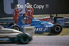 Jacques Laffite Ligier JS25 Dutch Grand Prix 1985 Photograph 2