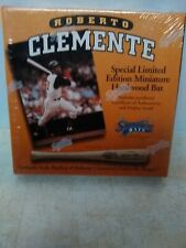 Roberto Clemente Pittsburgh Pirates Signature Miniature Bat Sealed