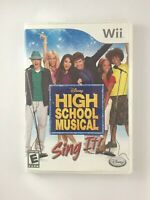 High School Musical Sing It - Nintendo Wii Game - Tested