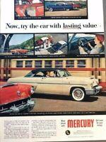 1953 Mercury Automobile Vintage Advertisement Print Art Car Ad Poster LG73