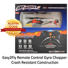 Sky Thunder Remote Control RC S5 Thunderbolt Gyro Copter Helicopter : New