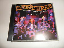 Cd   House Of Large Sizes  ‎– My Ass-Kicking Life