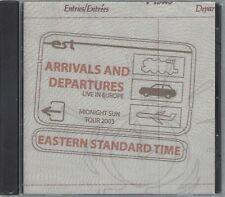 EASTERN STANDARD TIME - ARRIVALS & DEPARTURES - (still sealed cd ) MEGA 010