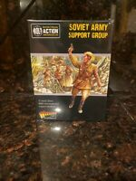 Soviet Army support group Bolt Action 2nd WWII Warlord Games 1/56 Model New!