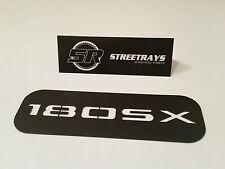 [SR] '180SX' V2 Center Dash AC Vent Cover Panel for S13 240SX 200SX (Black)