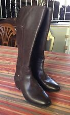 FRANCO SARTO Riding Boots  - 8m Brown LEATHER