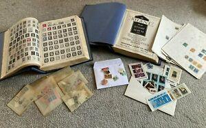 VINTAGE Lot Of The Regent Hold Stamp Albums & Assorted Stamps (3218)