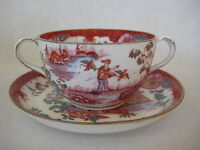 Vintage Royal Stafford China 1972 England Hand Painted Cup & Saucer Set (Rare)