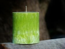 80hr JUNIPER BERRIES Strong Scented Oval Eco Candle Gift FREE SHIPPING / POSTAGE