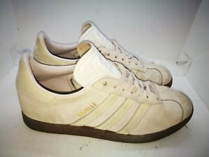 Adidas gazelle grey suede casual trainers size 6