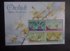 Papua New Guinea 2010 Orchid Flowers MS1436 MNH UM unmounted mint