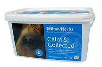 Hiltons Herbs Calm & Collected 1kg Or 2kg Supplement Tried & Tested Calmer Horse