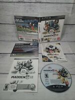 Madden NFL 12 Hall of Fame Edition (Sony PlayStation 3, 2011) Complete Inserts