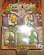 Creepyfreaks The 3D Trading Game Cartoon DVD Included ~ NIP & Free S&H!