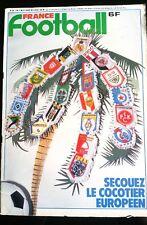 France Football 4/03/1980; Les coupes Européennes/ France Grèce