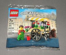 LEGO Creator Flower Cart Polybagged Set 40140 Mini Model Promo NEW Modular