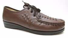 Softspots Brown Leather Oxford Wedge Shoes 8.5M 8.5 NEW MSPR $89