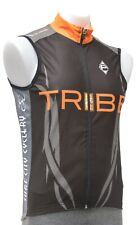 Panache Surf City Cyclery Wind Vest Men Medium Black Tribe Triathlon Bike Tyr