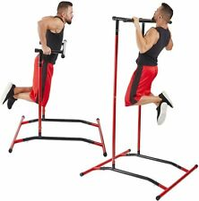 Pull Up Bar Dip Station, Portable Power Tower Home Gym Equipment