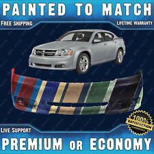 New Painted To Match Front Bumper Cover Replacement for 2011-2014 Dodge Avenger (Fits: Dodge Avenger)