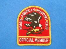 North American Hunting Club Patch Firearms National Rifle Association NRA Guns