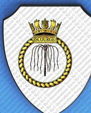 HMS SCOURGE WALL SHIELD