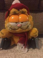 Garfield Ice Skating Stuffed Figurine 1978,1981