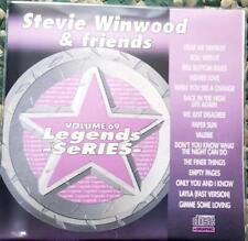 LEGENDS KARAOKE CDG STEVE WINWOOD & FRIENDS OLDIES POP  #69 15 SONGS CD+G