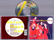 MARVIN GAYE - Live 1993 CD Nuovo RARO Import