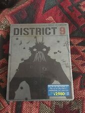 District 9 steelbook, Japanese import, region free