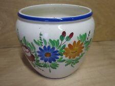 cache pot vintage décor peint main design années 50