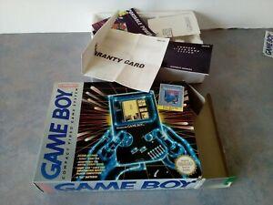 **EMPTY BOX & paperwork FOR Nintendo Gameboy